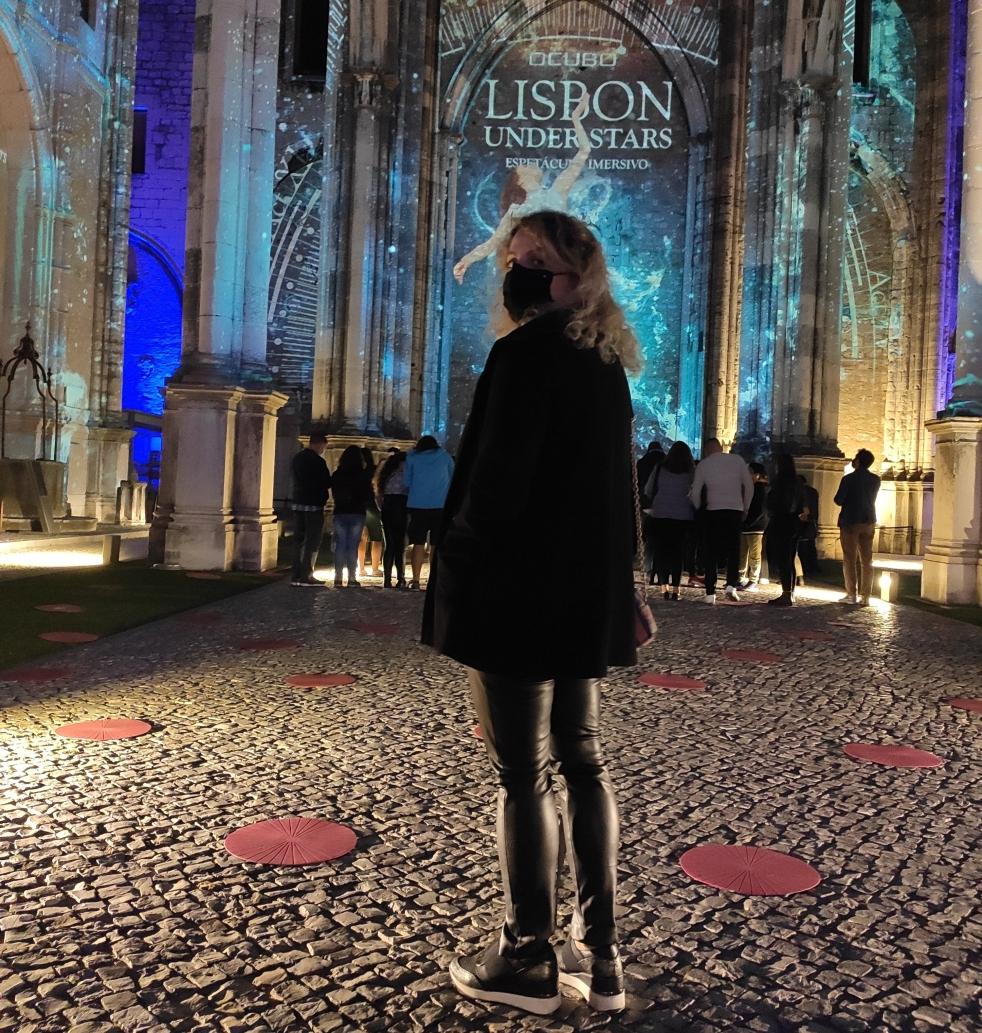 Lisbon under the stars
